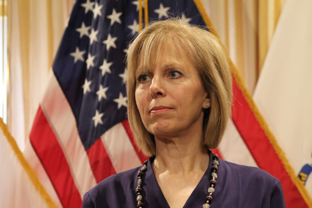 Cathy Judd-Stein is the new chairwoman of the Massachusetts Gaming Commission. (Sam Doran/State House News Service)