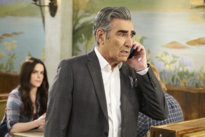 "Johnny (Eugene Levy) in a scene from season 5 of ""Schitt's Creek."" (Courtesy of POPtv)"