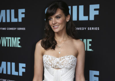 "Frankie Shaw arrives at the LA Premiere of ""SMILF"" at the Harmony Gold Theater in October 2017 in Los Angeles. (Willy Sanjuan/Invision/AP)"