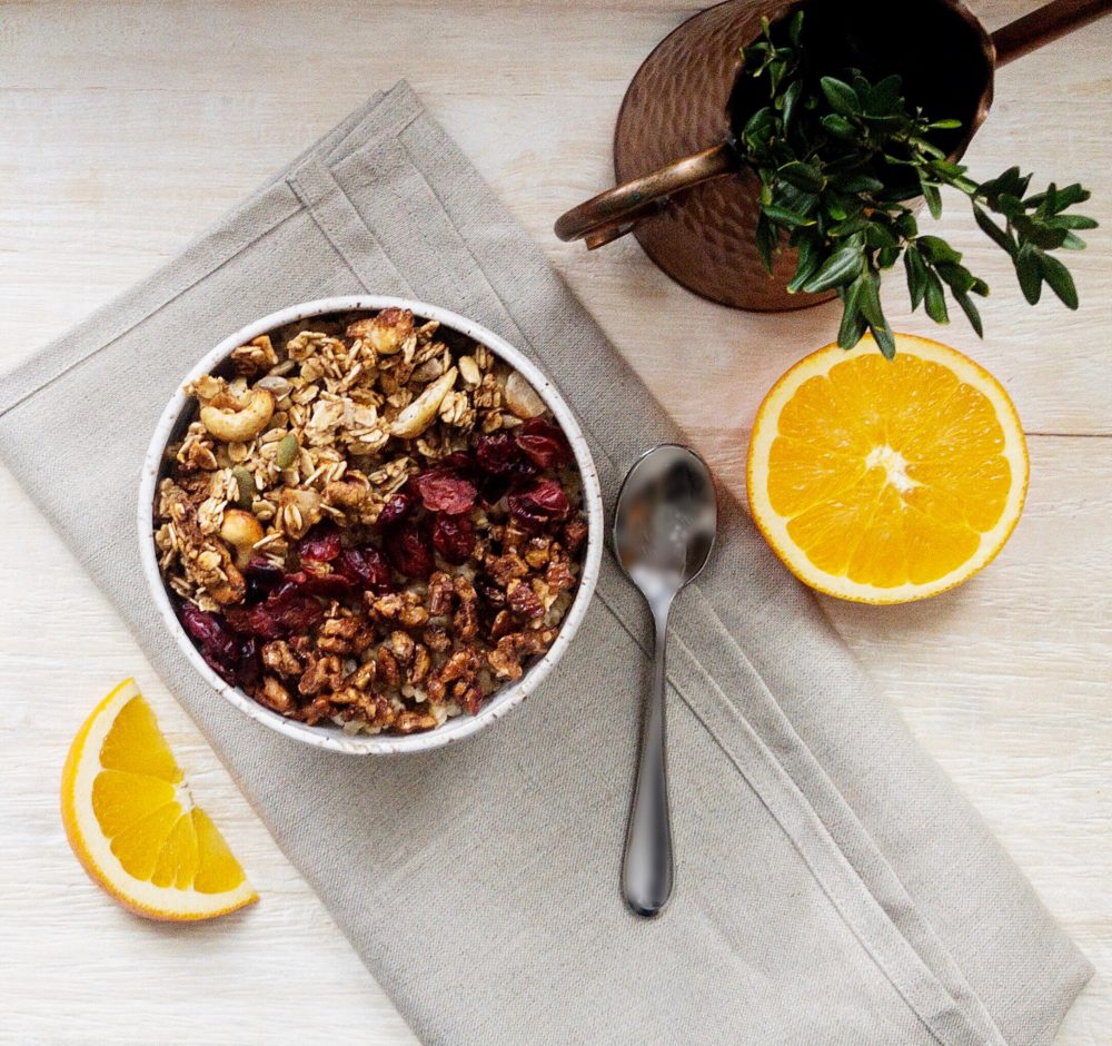 The Oat Shop's special winter breakfast -- an orange-cranberry bowl. (Courtesy The Oat Shop)