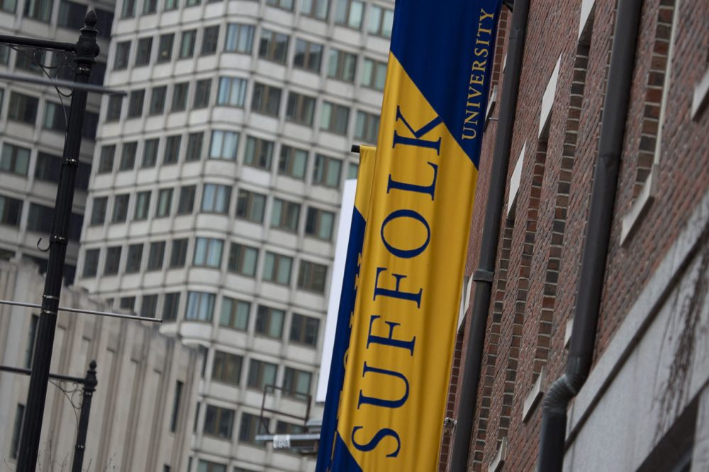 Suffolk University (Jesse Costa/WBUR)