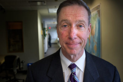 U.S. Rep. Stephen Lynch, photographed in 2013. (WBUR)