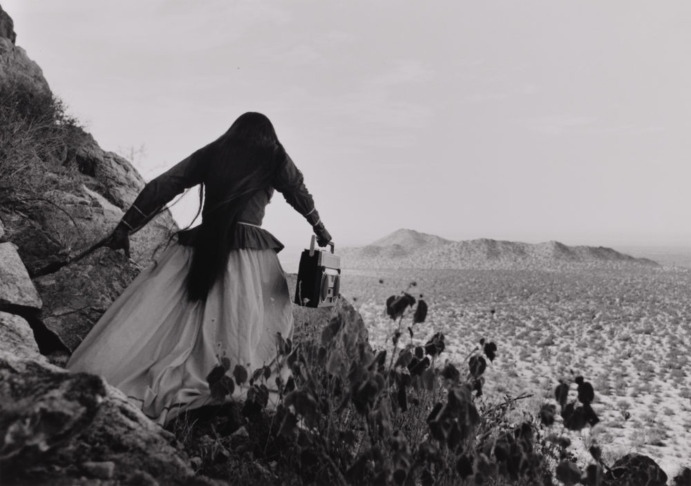 """Angel Woman"" by Graciela Iturbide (Courtesy Museum of Fine Arts, Boston)"