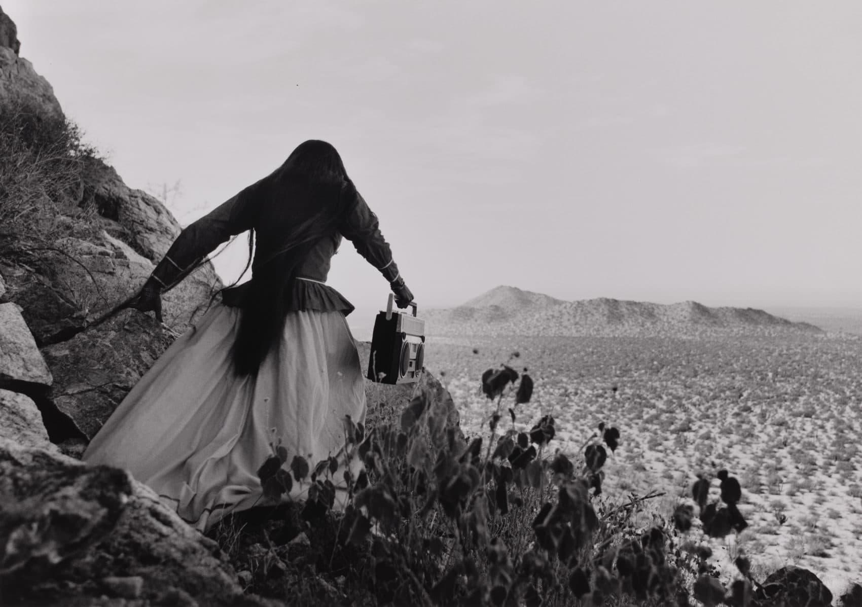 Graciela iturbides black and white photos wrestle with
