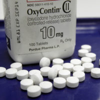 This 2013 file photo shows OxyContin pills. (Toby Talbot/AP)