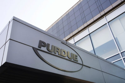 This 2007 file photo shows the Purdue Pharma offices in Stamford, Conn. (Douglas Healey/AP)