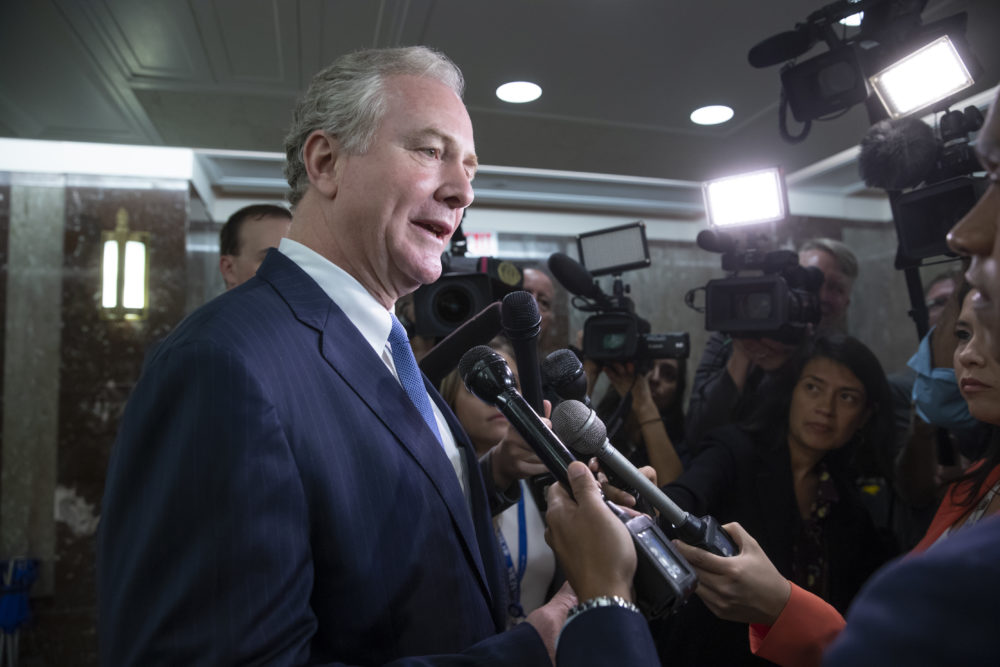 Sen. Chris Van Hollen, D-Md., on Capitol Hill in Washington, Tuesday, Sept. 18, 2018. (J. Scott Applewhite/AP)