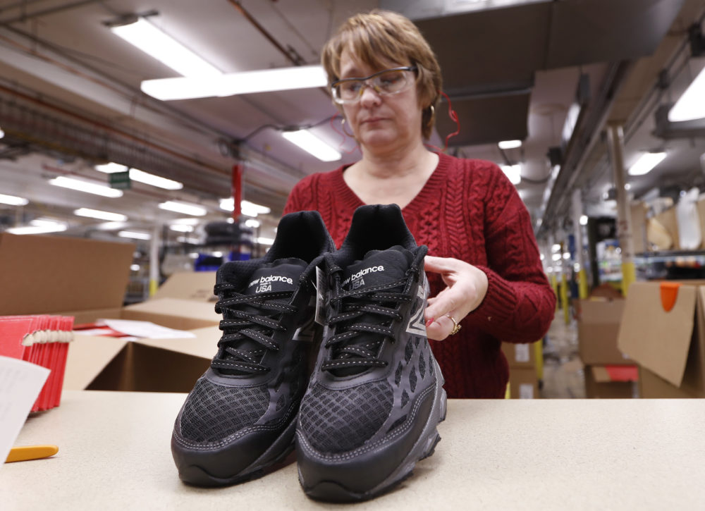 a5715c1922 Military Recruits Getting Made-In-The-USA Athletic Trainers | WBUR News
