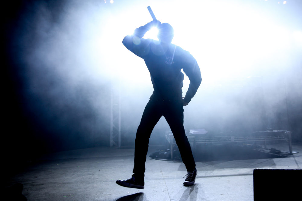 Vince Staples performs at the NPR Showcase at South By Southwest in 2016, in Austin, Texas. (Rich Fury/Invision/AP)