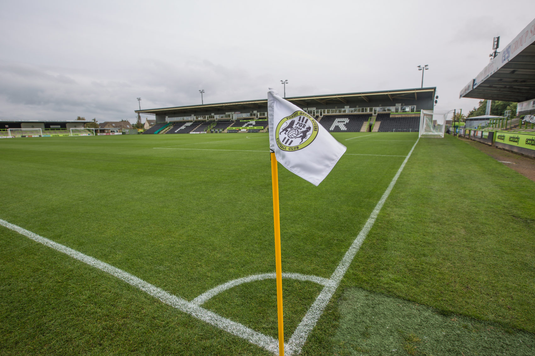 The Pitch at New Lawn. (Courtesy Forest Green Rovers.