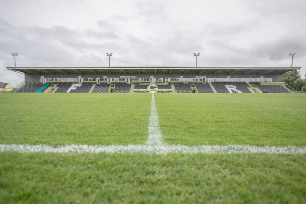 In 2015, Forest Green Rovers became the world's first vegan sports team. (Courtesy Forest Green Rovers)