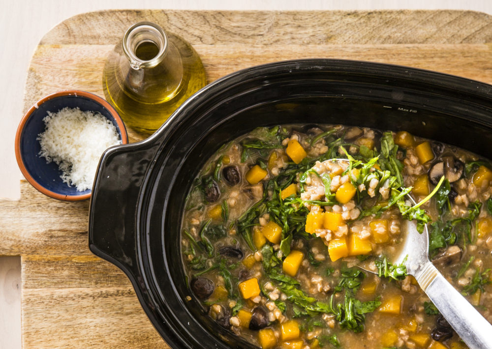 America's Test Kitchen's Farro and Butternut Squash Stew. (Courtesy America's Test Kitchen)
