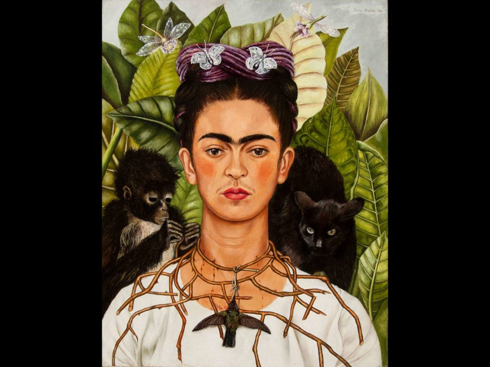 The Museum of Fine Arts is curating its first exhibition of Frida Kahlo's works this season. (Courtesy MFA)