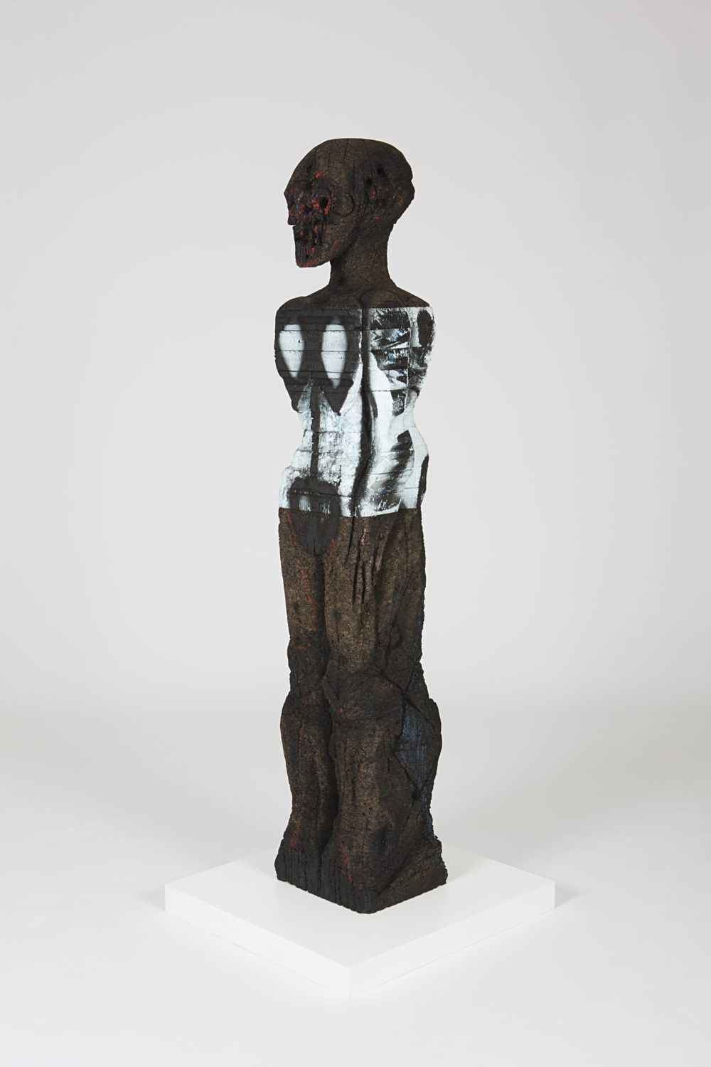 "Huma Bhabha's ""With Blows."" (Courtesy)"