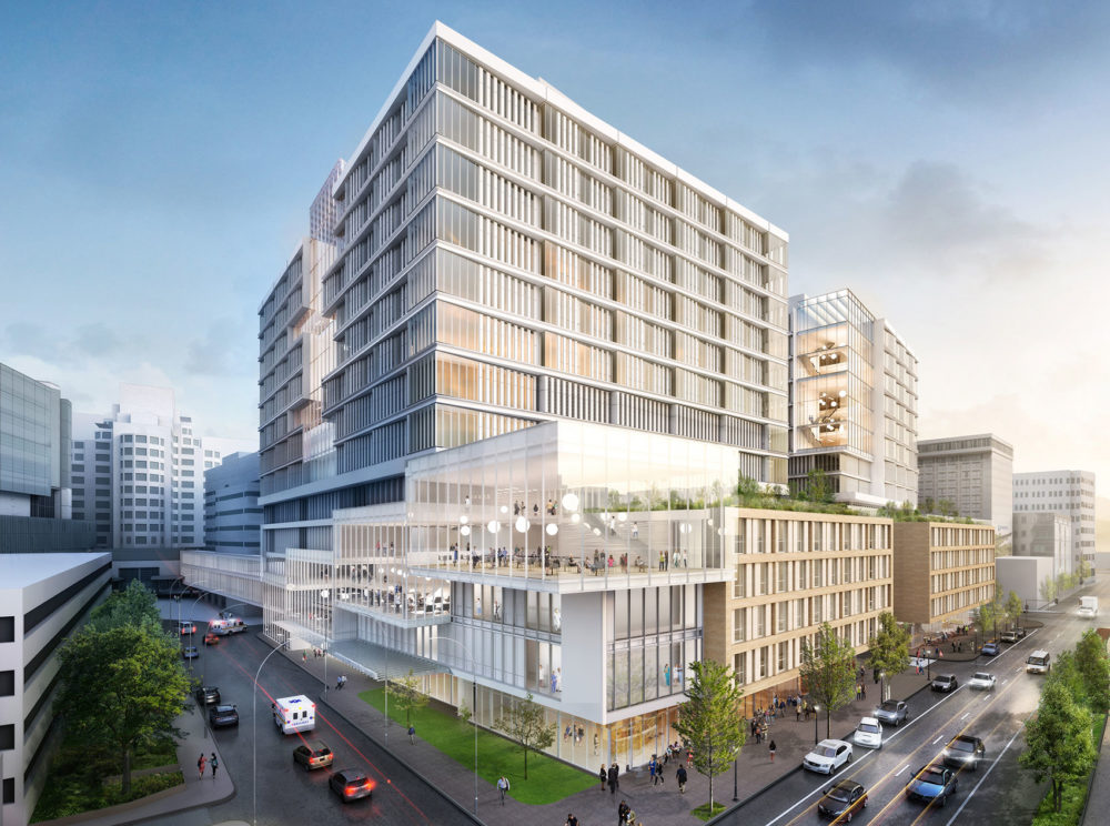 A rendering of MGH's proposed expansion (Courtesy of MGH)