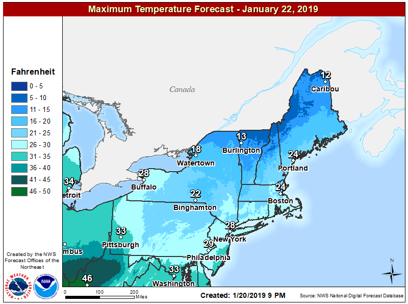 Winter Weather Advisories expected amid possible freezing rain overnight