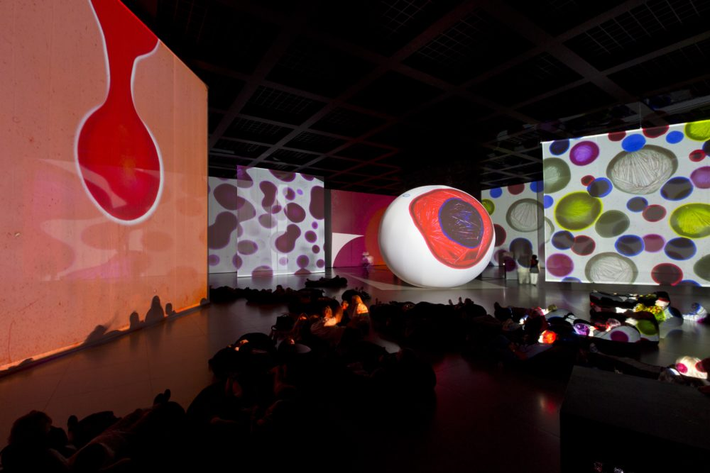 "Otto Piene's ""Proliferation of the Sun"" will be at the Fitchburg Art Museum this winter. (Courtesy)"