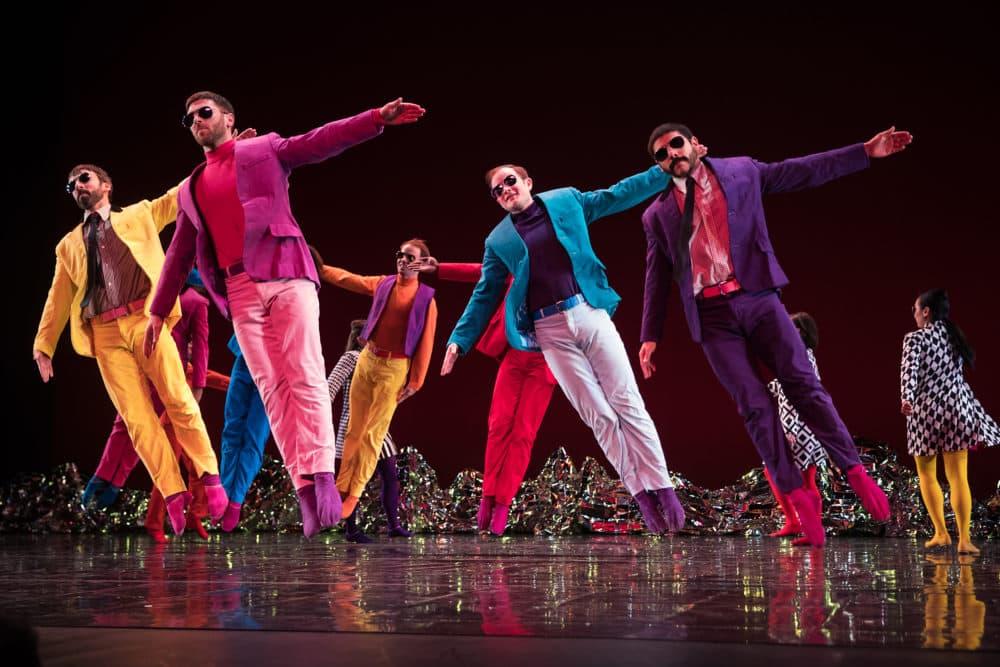 "An earlier performance of ""Pepperland."" (Courtesy Mat Hayward)"