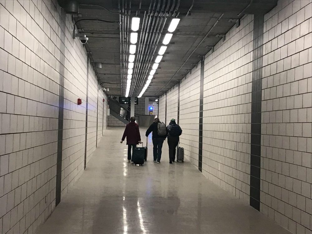 A view of the new MBTA tunnel (courtesy of MBTA General Manager Steve Poftak via Twitter)