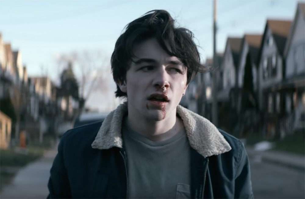 a996b19c6fb46 Wayne played by actor Mark McKenna is the star of YouTube's new original  series created by