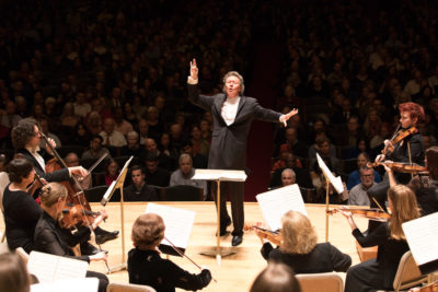 The Handel and Haydn Society's artistic director Harry Christophers. (Courtesy Michael Blanchard)