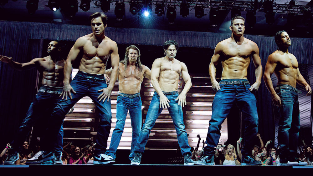 "The cast of the film ""Magic Mike."" (Courtesy)"