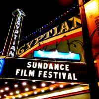 The Egyptian Theatre in Park City, Utah during a previous Sundance Film Festival. (Courtesy Travis Wise/Flickr)