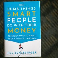 """The Dumb Things Smart People Do with Their Money,"" by Jill Schlesinger. (Robin Lubbock/WBUR)"