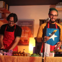 """Ricky Orng and Anthony Febo perform as """"Adobo-Fish-Sauce."""" (Courtesy Adobo-Fish-Sauce)"""