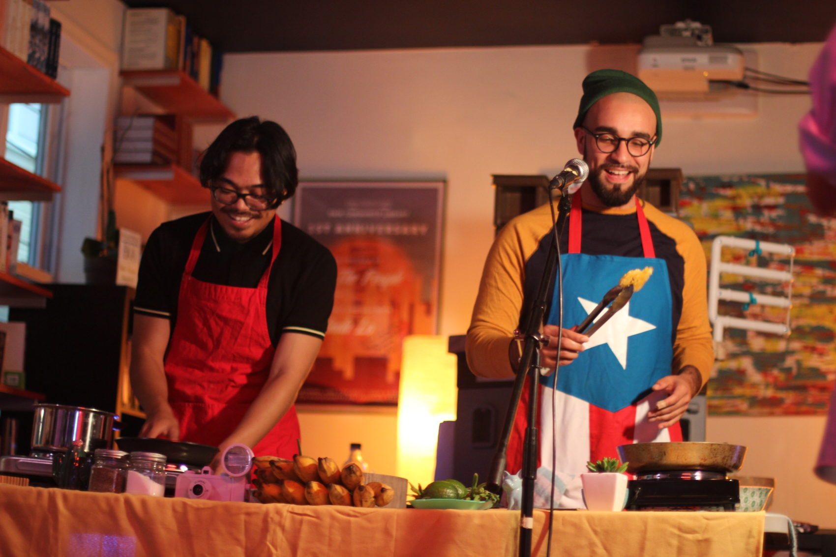 "Ricky Orng and Anthony Febo perform as ""Adobo-Fish-Sauce."" (Courtesy Adobo-Fish-Sauce)"