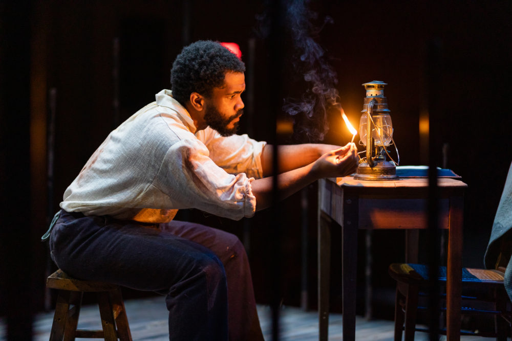 Brandon G. Green as Nat Turner. (Courtesy Nile Scott Shots)