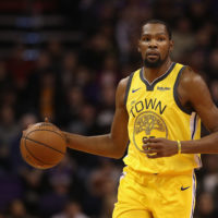 Kevin Durant expressed frustration with the media at a recent press conference. (Christian Petersen/Getty Images)