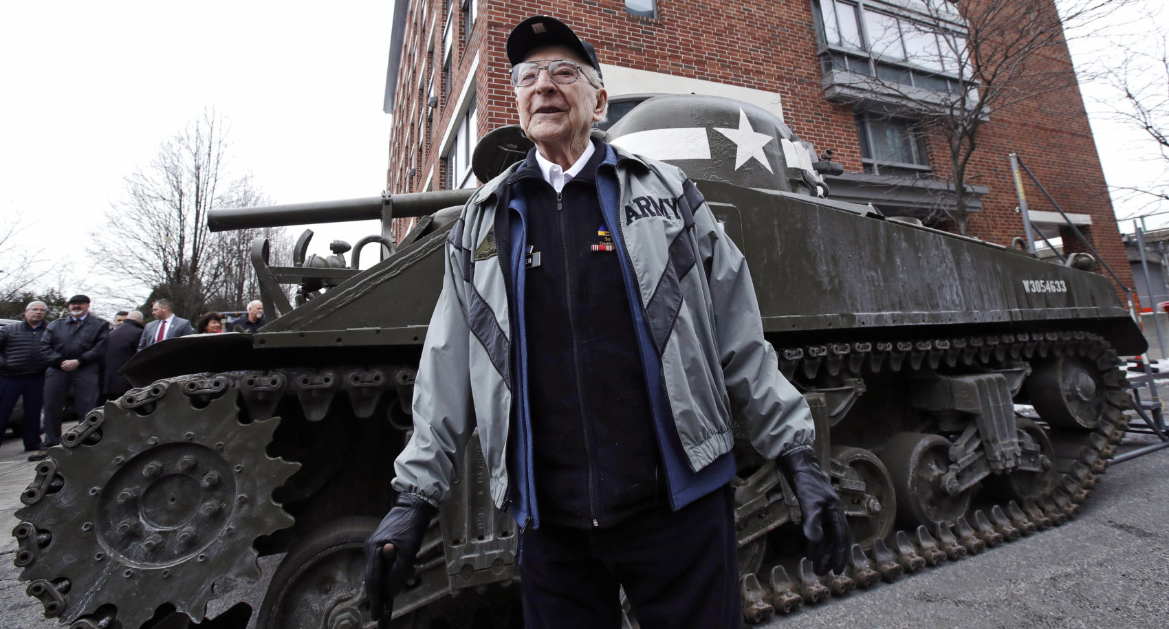 95-Year-Old WWII Veteran Gets Surprise Visit From An 'Old
