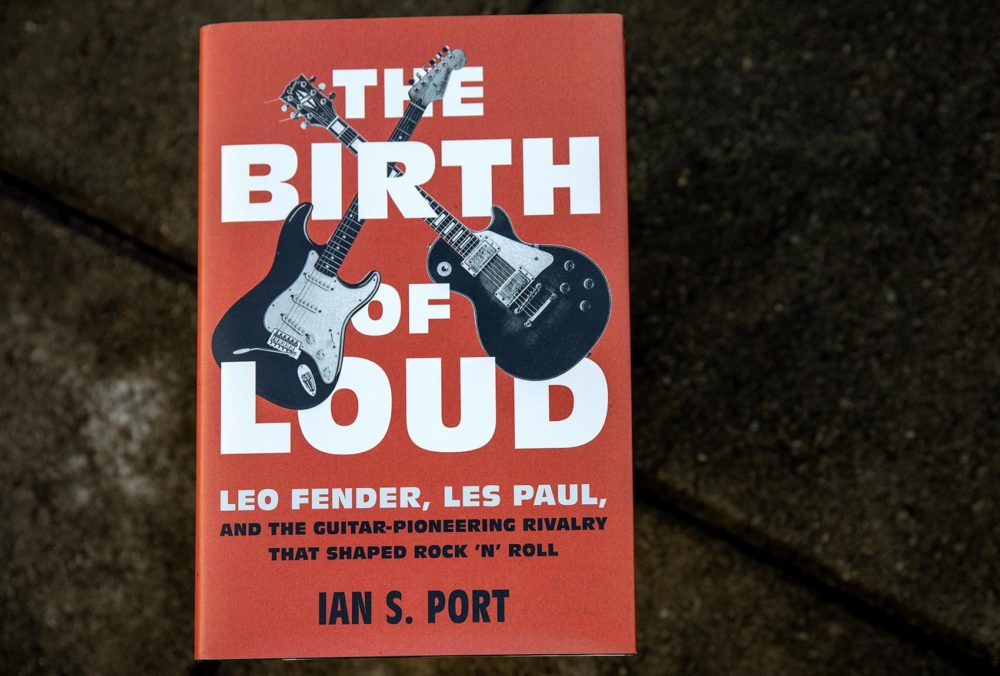 """The Birth Of Loud,"" by Ian S. Port. (Robin Lubbock/WBUR)"