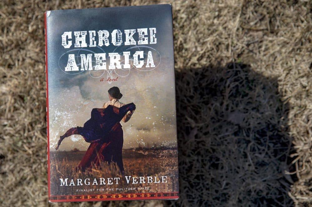 """""""Cherokee America,"""" by Margaret Verble. (Robin Lubbock/WBUR)"""