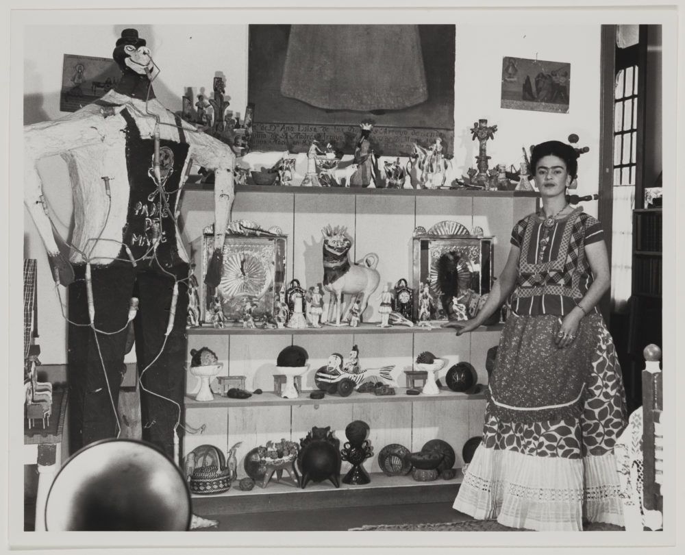 Frida Kahlo collected arte popular. (Courtesy Museum of Fine Arts, Boston)