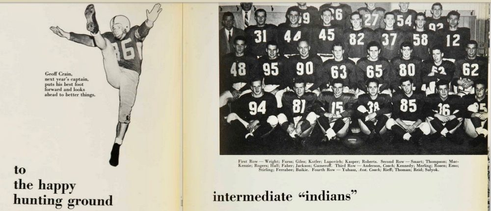 McGill's athletic teams have used Indigenous nicknames since 1927. (Courtesy Suzanne Morton)