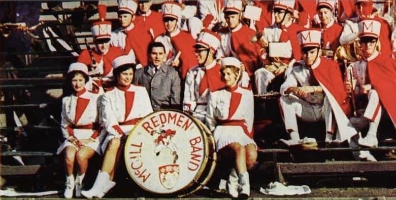 The 1962 McGill Redmen Band. (Courtesy Suzanne Morton)