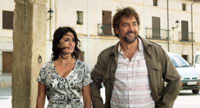 "Penélope Cruz as Laura and Javier Bardem as Paco in Asghar Farhadi's ""Everybody Knows."" (Courtesy Teresa Isasi/Focus Features)"