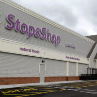 This Tuesday, June 5, 2012, photo, shows the Stop & Shop super market store in Pembroke, Mass. (Stephan Savoia/AP)