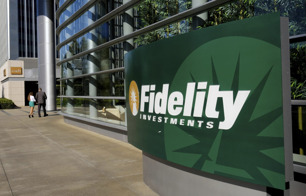 "Amid recession forecasts, Fidelity Vice President Katie Taylor notes that ""a down market is actually a time when I can buy shares of my mutual funds at a lower price."" (Richard Vogel/AP)"