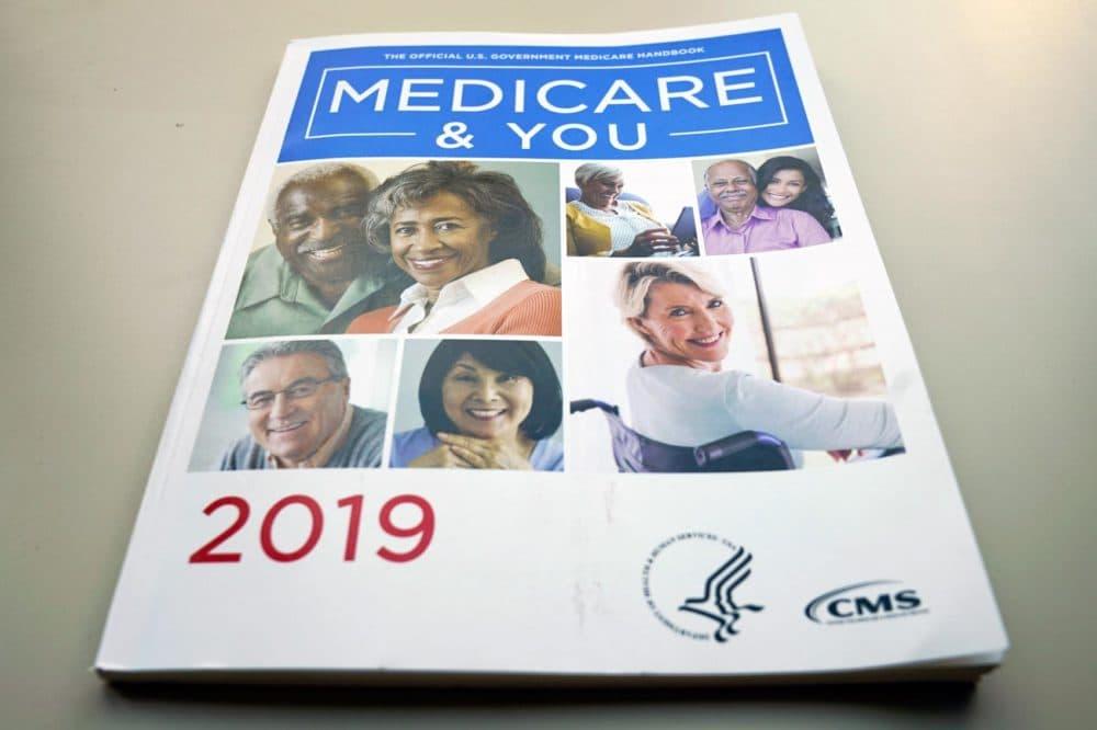 The U.S. Medicare Handbook is photographed Thursday, Nov. 8, 2018, in Washington. (Pablo Martinez Monsivais/AP)