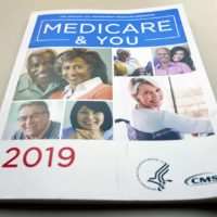The U.S. Medicare Handbook is photographed Thursday, Nov. 8, 2018, in Washington. (Pablo Martinez Monsivais/AP)