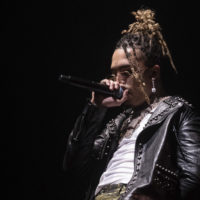 Lil Pump performs in concert at Barclays Center on Dec. 29, 2018, in New York. (Charles Sykes/Invision/AP)