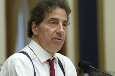 Rep. Jamie Raskin D-Md., speaks during the House Judiciary Committee hearing on gun violence, at Capitol Hill in Washington, Wednesday, Feb. 6, 2019. (Jose Luis Magana/AP)