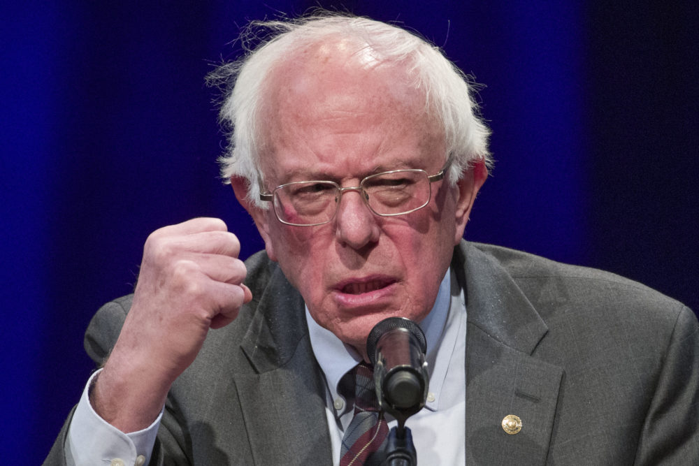 In this Nov. 27, 2018 photo, Sen. Bernie Sanders,  speaks at an event in Washington. Sanders, whose insurgent 2016 presidential campaign reshaped Democratic politics, announced Tuesday, Feb. 19, 2019 that he is running for president in 2020. (Alex Brandon/AP)