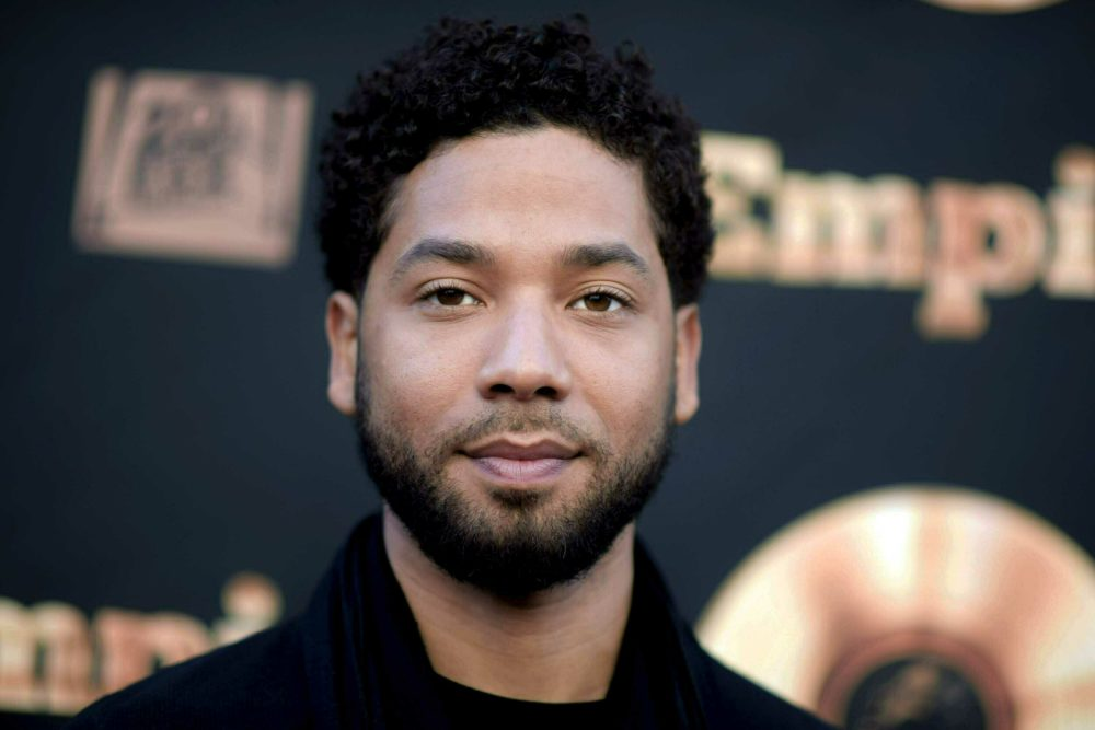 """Actor and singer Jussie Smollett attends the """"Empire"""" FYC Event in Los Angeles, May 20, 2016. (Richard Shotwell/Invision/AP, File)"""