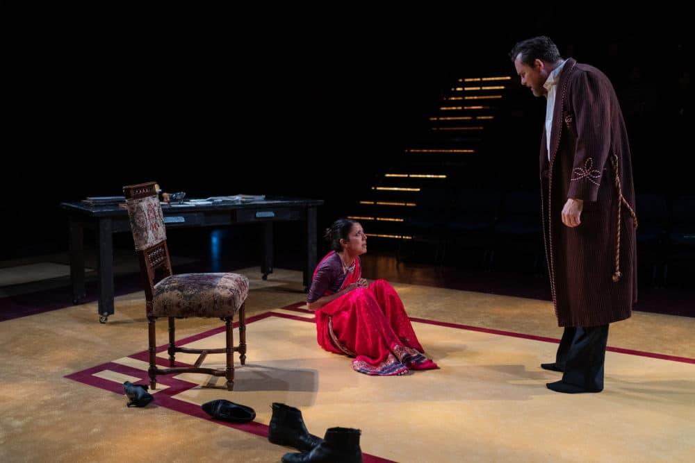 """Vaishnavi Sharma and Eric Tucker in """"Bedlam's Pygmalion."""" (Courtesy Nile Scott Studios)"""