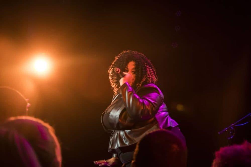 Rapper Brandi Blaze. (Courtesy Mel Taing)