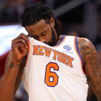 The New York Knicks and Phoenix Suns have combined for just 22 wins this season. (Gregory Shamus/Getty Images)